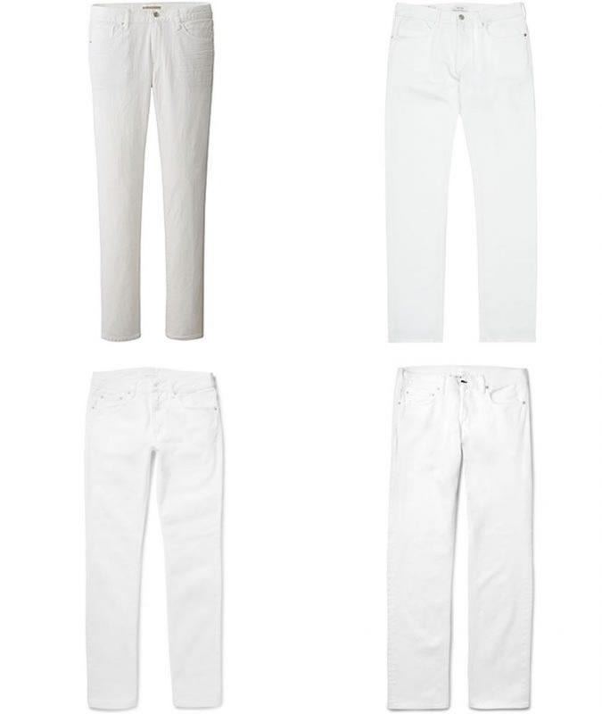 một chiếc quần jeans trắng bó sát sẽ làm cho các nàng trở nên phản cảm vô cùng.